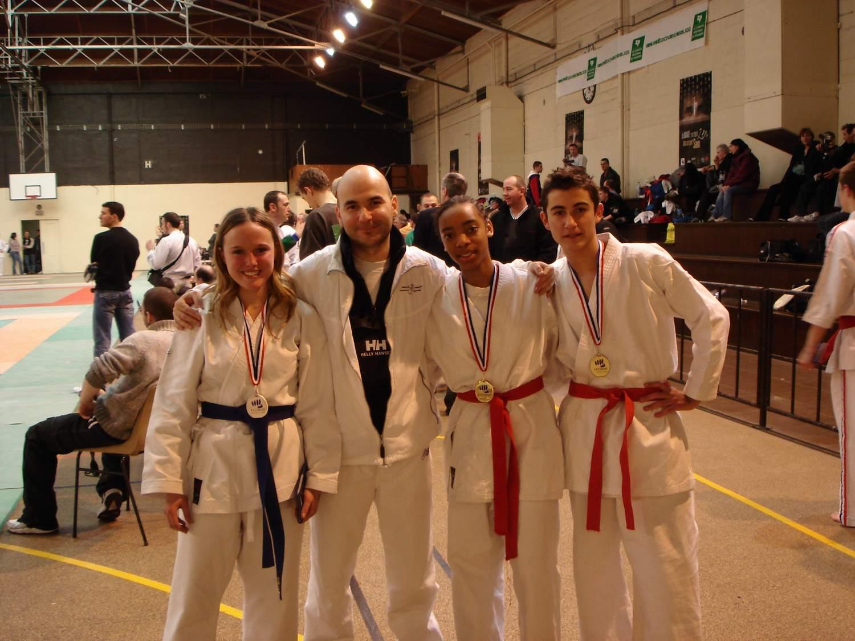 club karate issy les moulineaux